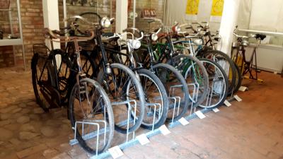 Foto zur Meldung: 200 jahre Fahrrad - Ausstellung im Museumshof