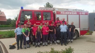 Foto zur Meldung: Samtgemeindewettbewerbe der Feuerwehren in Dransfeld