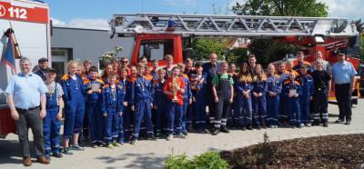 Foto zur Meldung: Samtgemeindewettbewerbe der Jugendfeuerwehren in Dransfeld