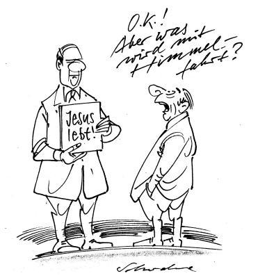 Karikatur von Reiner Schwalme - Cartoonlobby