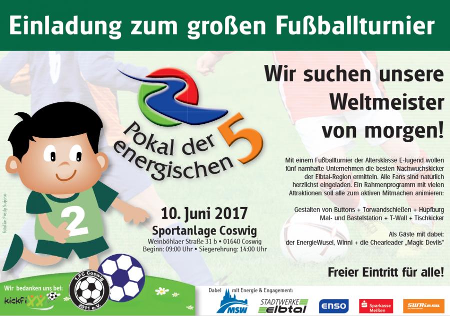 """1. ostsächsische fußballschule """"kickfixx"""" e. v. - einladung zum, Einladung"""