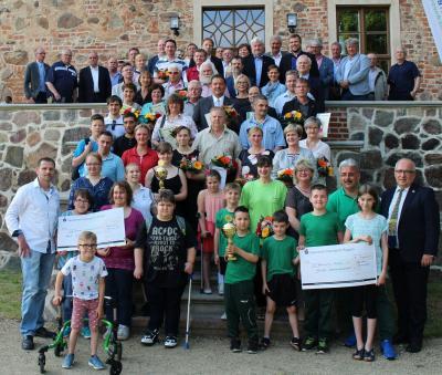 Foto zur Meldung: Ehrung des Kreissportbundes für Ehrenamt  2017