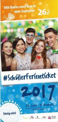 Vorschaubild zur Meldung: Schüler-Ferienticket 2017 – Sachsen-Anhalt und MDV…und einmal nach Berlin