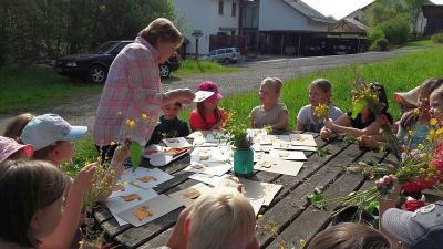 Foto zur Meldung: Heimat- und Sachunterricht einmal anders: Unterrichtszimmer – Wiese