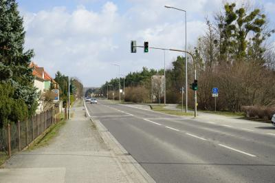 Vorschaubild zur Meldung: B 169 Ortsdurchfahrt Schwarzheide - Ost