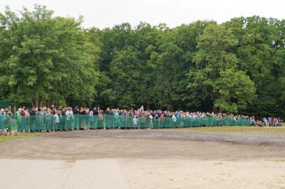 Foto zur Meldung: Herrentagsfeier in der Gartsbrucharena