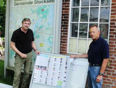Foto zu Meldung: Auch physisch angekommen: Stocksee Mitglied von Holsteinseen