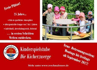 Foto zu Meldung: Angebot folgt der Nachfrage – Kinderspielstube an fünf Tagen