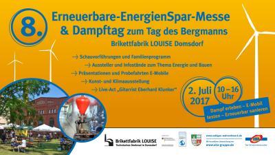 Foto zu Meldung: Energiegeladene LOUISE - 8. Erneuerbare-EnergieSpar-Messe am 02. Juli 2017
