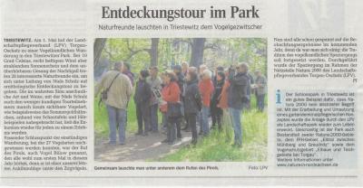 Vorschaubild zur Meldung: Entdeckungstour im Park