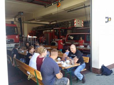 Foto zur Meldung: Familientag des Feuerwehrvereins