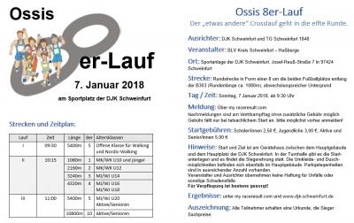 Foto zur Meldung: Ossis 8er-Lauf 2018