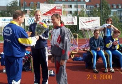 Foto zu Meldung: Mehrkampfmeeting 2000