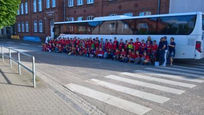 Foto zur Meldung: Besuch in unserer Partnerschule in Bönningstedt