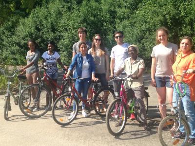 Foto zu Meldung: Erneut Fahrradkurs bei Blau-Weiß96