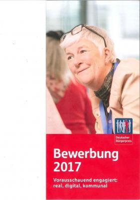 Vorschaubild zur Meldung: Einreichung von Vorschlägen zum Deutschen Bürgerpreis 2017