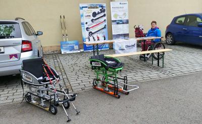 """Foto zur Meldung: Präsentation der Sportangebote zur """"Aktion Meilenstein"""" in Meiningen"""