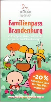 Foto zu Meldung: Familienpass Brandenburg beim Tourismusverein Westhavelland e.V. erhältlich