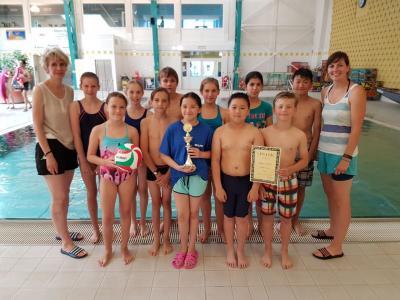 Foto zu Meldung: Spannender Krimi um den Sieg im Kleinen Triathlon der Grundschulen!