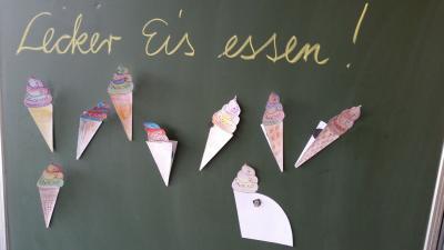 """Foto zur Meldung: """"Lecker Eis essen"""""""