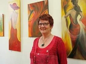 Vorschaubild zur Meldung: Kleine Galerie lässt Farben tanzen