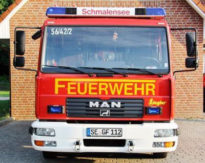 Foto zur Meldung: Unwetter birgt Gesprächsstoff – Feuerwehr musste nochmal raus