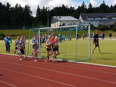Foto zur Meldung: Athletik Wettkampf Biathlon 10.06.2017 Oberhof