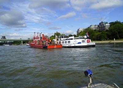 Foto zu Meldung: Rhein in Flammen