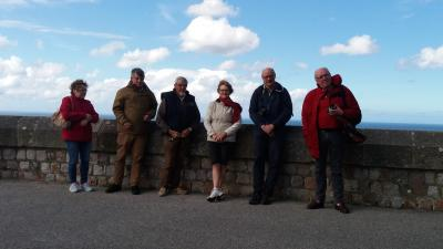Gruppe in Cherbourg