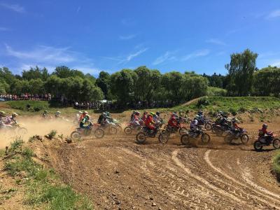Foto zu Meldung: 9. Motocross-Spektakel mit 180 Startern und 500 begeisterten Zuschauern
