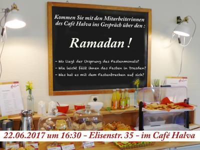 Foto zu Meldung: Ramadan! Gesprächsrunde im Café Halva