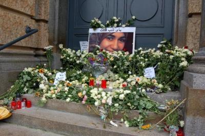 Foto zu Meldung: Gedenken an Marwa El-Sherbini / In memory of Marwa el Sherbini