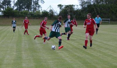Gegen die zweite Mannschaft des FSV Malchin will der  Demminer SV ( grün-weiss ) die Saison mit einem Sieg ausklingen lassen.