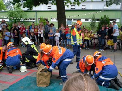 Foto zur Meldung: Wir luden ein zum Kinderfest und viele kamen