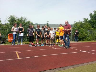 Foto zur Meldung: Sportfest an der Regionalen Schule Crivitz