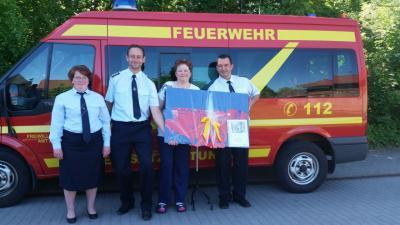Foto zu Meldung: Feuerwehr ist Ehrensache