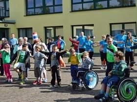 Vorschaubild zur Meldung: Olympiawoche auf dem Schulhof