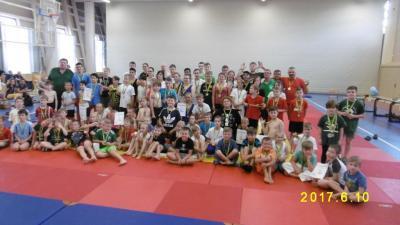 Foto zur Meldung: 20. Kinder- und Jugendsportspiele des Landkreises OSL im Sumo