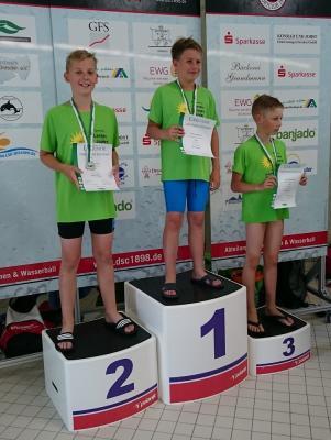 Foto zu Meldung: Schwimmen Sachsen-Talentiade und Landesjugendspiele in Dresden
