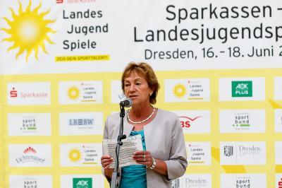 LSB-Vizepräsidentin Angela Geyer