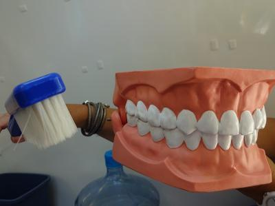 Foto zur Meldung: Das Zahnmobil zu Besuch!