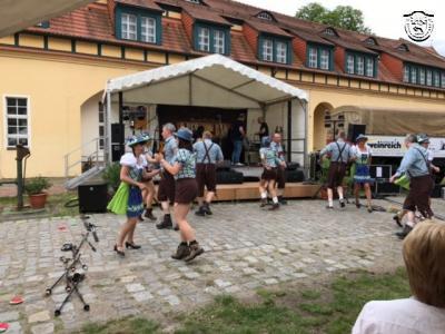 09.06.2017 Auftritt der Kurfüstlichen Tanzperlen bei Stadt-Land gestalten - mach mit!