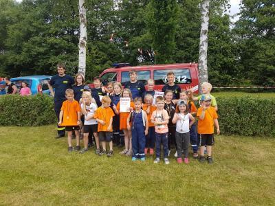 Foto zu Meldung: Kinder- und Jugendfeuerwehr Rottleberode beim Thyrapokal 2017