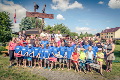 Foto zu Meldung: Erlebnisreicher Tag im Freizeitcamp-Werra