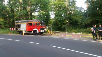 Foto zu Meldung: Waldbrand in der Dellbrücker Heide