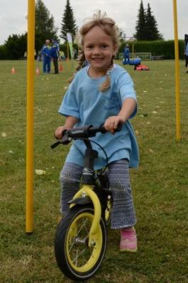 Foto zur Meldung: Kita-Kinder im Sportfieber