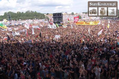 Woodstock-Festival in Kostrzyn nad Odrą, Foto: Tomasz Kulik