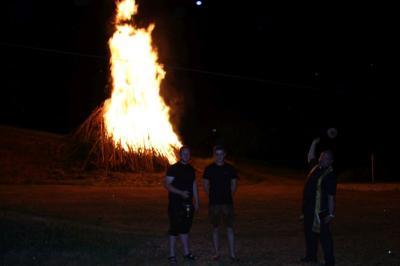 Foto zur Meldung: Die Sonnwendfeier war ein tolles Fest