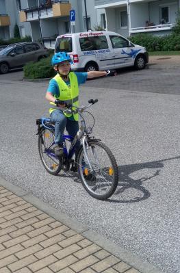 Foto zur Meldung: Fahrradprüfung