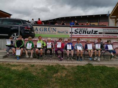 Vorschaubild zur Meldung: 4. Steinbacher Messerlauf - Juniorcross am 25.6.2017 in Schweina